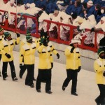 Marching into the Opening Ceremonies 1988 Calgary Winter Olympics