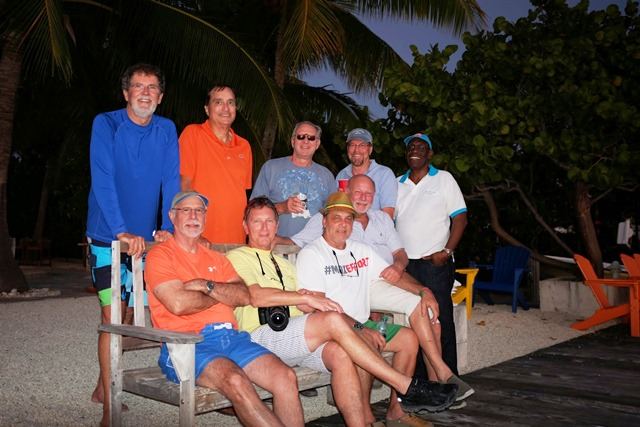 The 60s crowd (Boys weekend get together in the Keys)